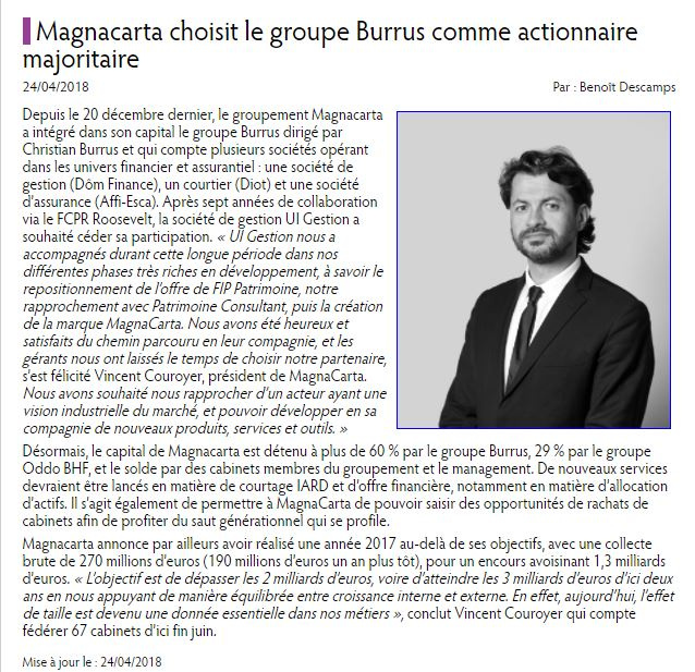 Article Vincent Couroyer